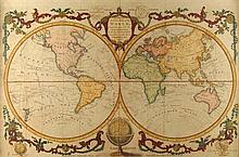1782: 'A New and Accurate Map of the World...'