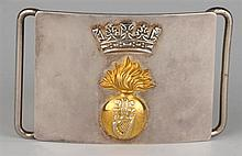 20th Century: Royal Irish Fusiliers waist belt clasp