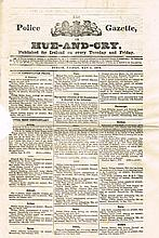 1876: Collection of issues of the Irish Police Gazette (7)