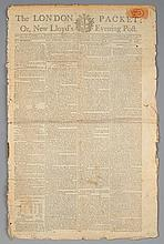 1798 Rebellion: Collection of newspapers carrying news of the rebellion