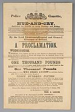 1866 (25 December) Hue-And-Cry James Stephens Wanted Proclamation