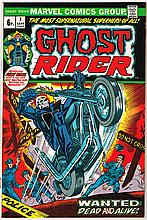 1973: Marvel Ghostrider No. 1 first issue comicbooks