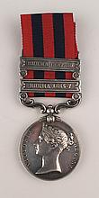 1885-89: Royal Munster Fusiliers Indian General Service Medal