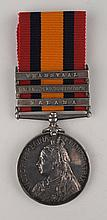 1899-1902: Royal Dublin Fusiliers Queen's South Africa Medal