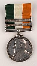 1901-1902: Royal Dublin Fusiliers King's South Africa Medal