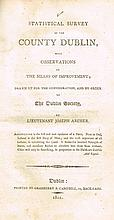 Archer, Joseph. Statistical Survey of the County Dublin, with Observations on the Means of Improvement...