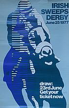 Irish Sweeps Derby June 25th 1977 Poster