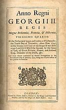 Acts of Parliament. Anno Regni Georgii II Regis Magnae Britannia, Francia, & Hibernia Vicesimo Quarto.
