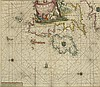 17th Century: Van Keulen Sea Chart of the British Isles
