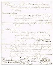1804 (June) letter concerning the escape of two French Prisoners from their guards at Cork.