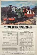 Railway ephemera collection including posters