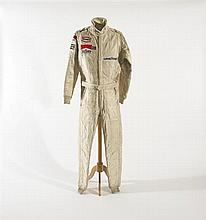1979 James Hunt Walter Wolf Racing Formula One suit.
