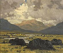 Paul Henry RHA (1876-1958) MAAM VALLEY, CONNEMARA