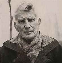 John  Minihan (b.1946) SAMUEL BECKETT, PHOTOGRAPHED ON THE BOULEVARD ST. JACQUES, PARIS, DECEMBER, 1985