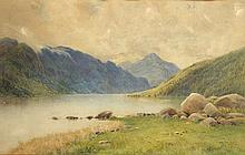 A. B. Wynne (c.1850-c.1910) LAKE GRAVEN, EIDE, NORWAY and FARLANDS FJORD, NORWAY (A PAIR)