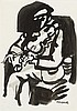 George Campbell RHA (1917-1979) ROSCOMMON FIDDLER, c.1970, George Campbell, €140