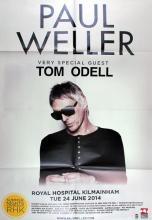 Paul Weller. Concert poster, Royal Hospital, Kilmainham, 24 June 2014