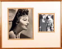 Ava Gardner. Signed photograph