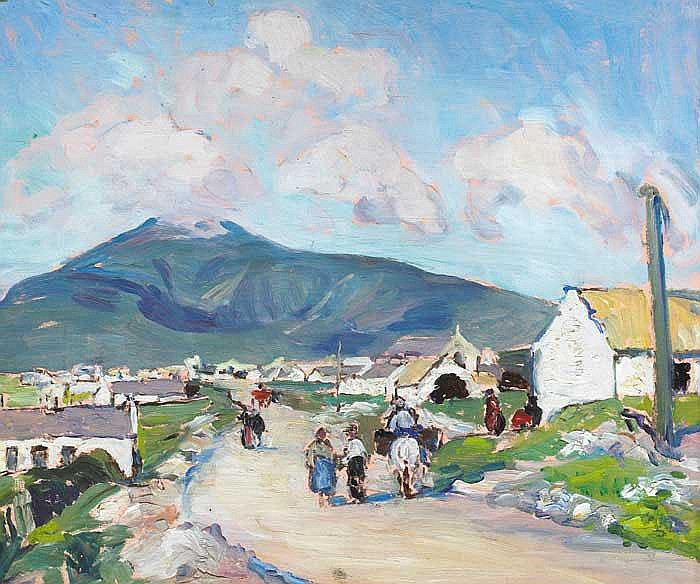 Eva Henrietta Hamilton (1876-1960) ACHILL STREET