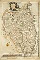 circa 1786: Alexander Hogg map of Leinster (2)