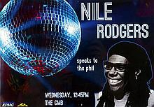 Nile Rogers Signed Poster