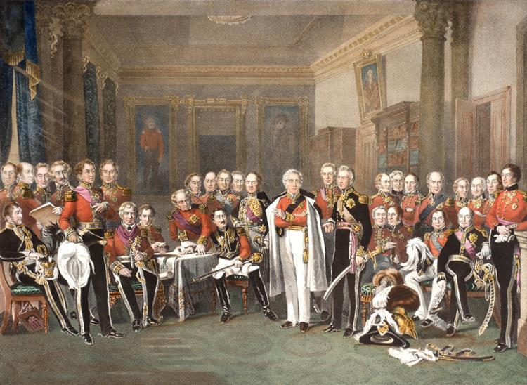 The Peninsular Heroes and The Battle of Salamanca, prints. (2)