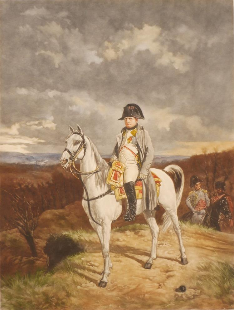 Napoleon Bonaparte and The Duke of Wellington. (79)