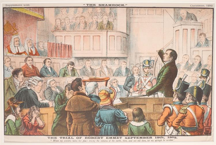 The Trial of Robert Emmet and End of the Irish Invasion (2)