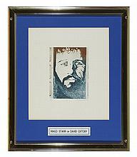 Ringo Starr portrait 1974 by David Oxtoby (b. 1938)