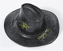 Jon Bon Jovi worn and signed hat