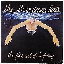 Boomtown Rats: The Fine Art Of Surfacing signed vinyl album