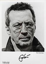 Eric Clapton. Signed photograph.