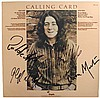 Rory Gallagher. 1976 signed Calling Card album.