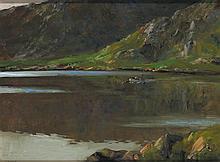 James Humbert Craig RHA RUA (1877-1944) THE KILLARIES, CONNEMARA