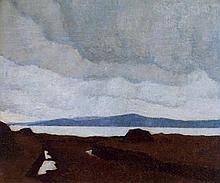 Paul Henry RHA (1876-1958) WESTERN LANDSCAPE, c.1918-1919