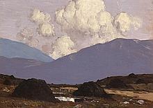Paul Henry RHA (1876-1958) A BOG ROAD, c.1929-1930