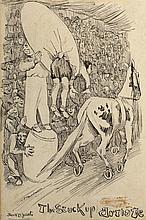 Jack Butler Yeats RHA (1871-1957) THE STUCK UP ARTISTE, 1891