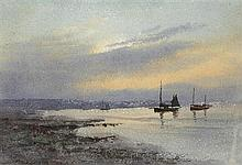 William Percy French (1854-1920) SET OF FOUR SEASCAPES