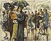 William Conor OBE RHA RUA ROI (1881-1968) RAINY DAY, BELFAST