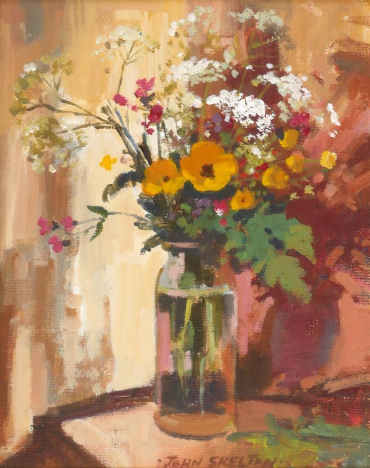 John Skelton (1923-2009) WILD FLOWERS, 1989