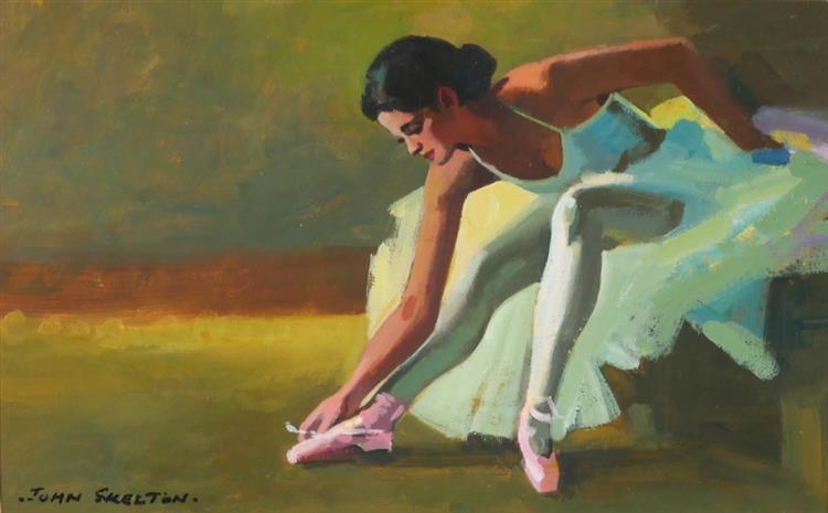 John Skelton (1923-2009) THE BALLET DANCER, 1988