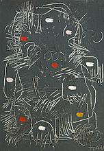 Kenneth Hall (1913-1946) UNTITLED ABSTRACT, c.early 1940s