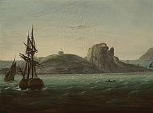 William Sadler II (c.1782-1839) VIEW OF IRELAND'S EYE