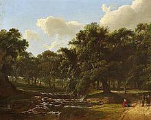 James Arthur O'Connor (1792-1841) FIGURES BY A RIVER