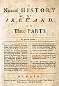 1726: A Natural History of Ireland in Three Parts by Gerard Boate Gerard and Thomas Molyneaux