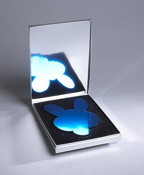 Jeff Koons HRA (American, b.1955) KANGAROO MIRROR BOX [BLUE] 2003