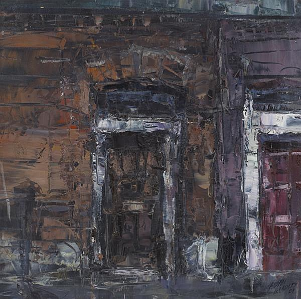 Aidan Bradley (b.1961) GEORGIAN DOORWAY, 2009