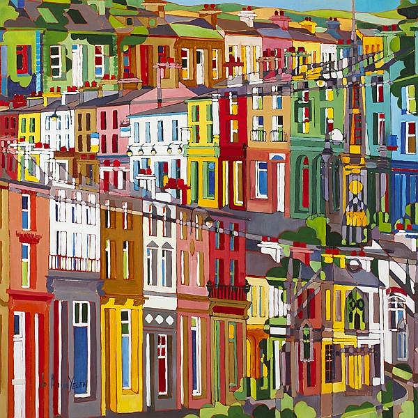 Jo-Anne Yelen (b.1959) THRU TOWN