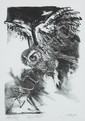 Jack Coughlin (b.1932) OWL IN FLIGHT, 1978