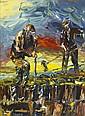 Liam O'Neill (b.1954) TURFCUTTERS